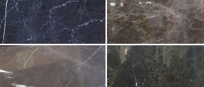 انواع سنگ مرمریت تیره ایران