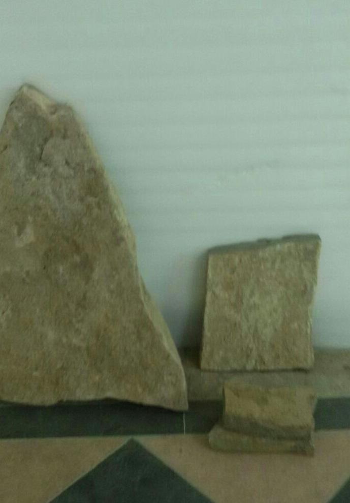 عرضه انواع سنگ ورقه ای سبز یشمی زیتونی