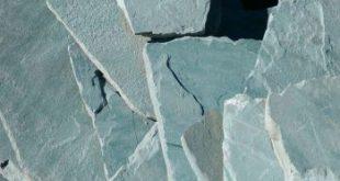 عرضه انواع سنگ ورقه ای سبز آبی